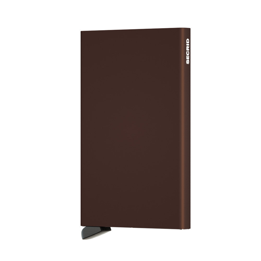 Secrid Cardprotector (Brown) - Plus Minus