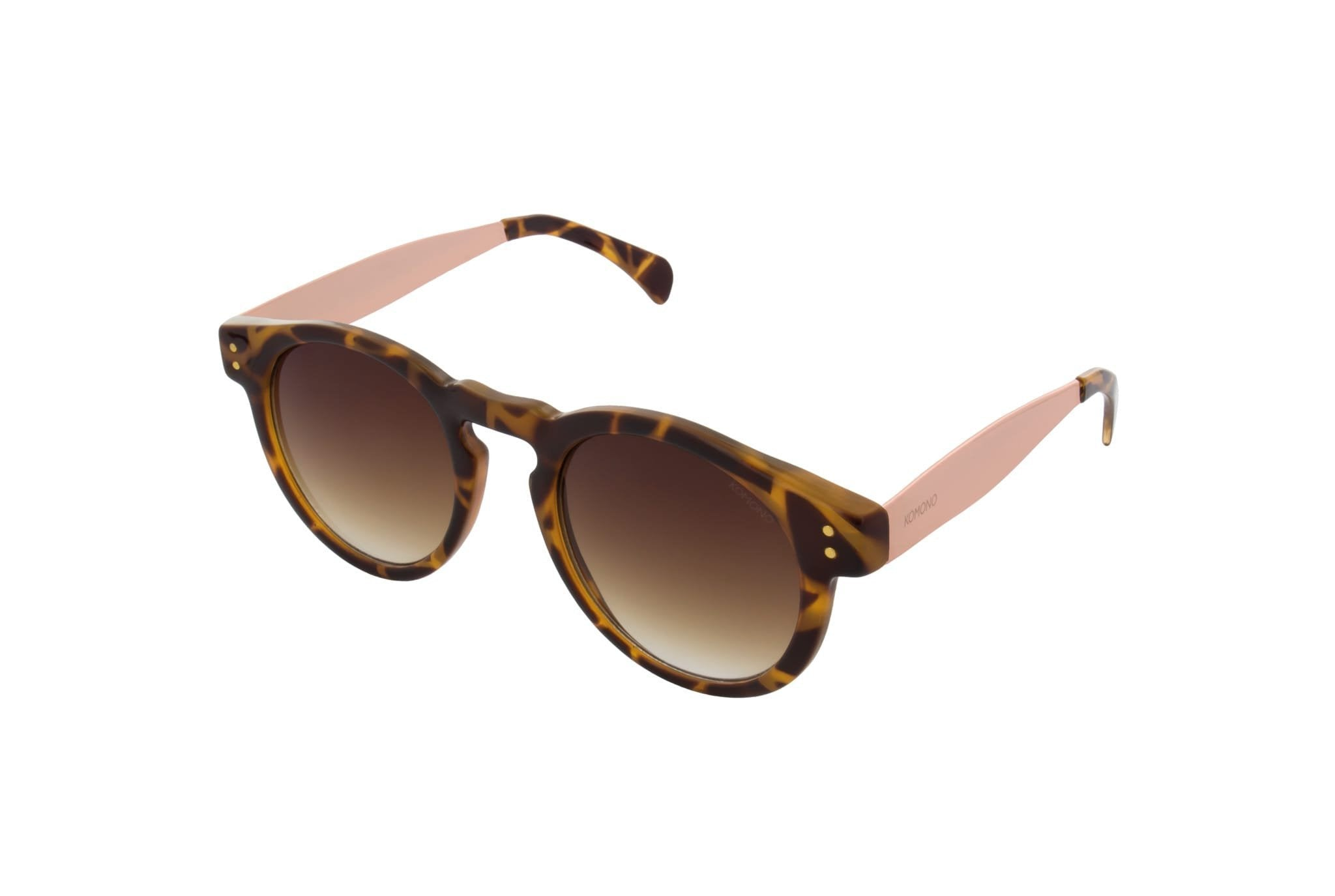 Komono Clement Sunglasses (Metal Tortoise Rose Gold) - Plus Minus