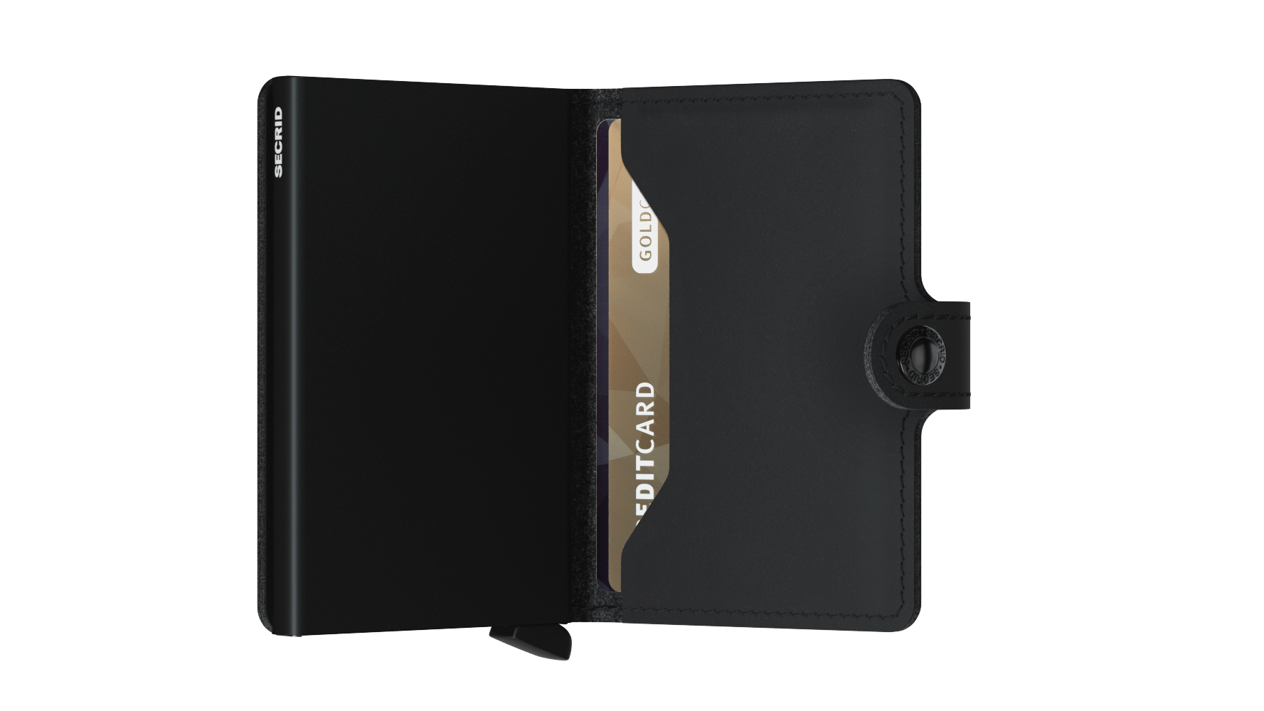 Secrid Miniwallet (Soft Touch Black)