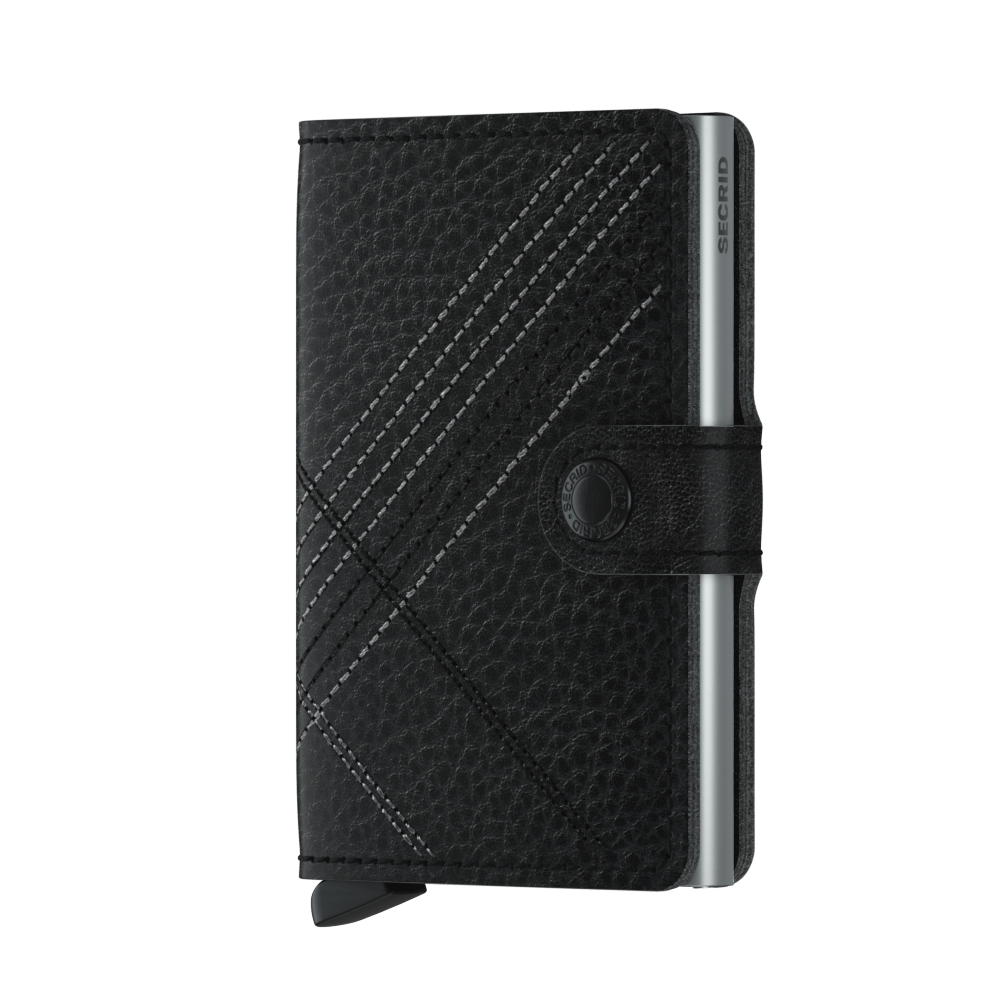 Secrid Miniwallet (Stitch Linea Black)