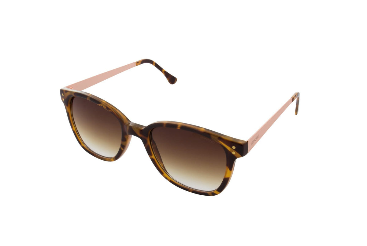 Komono Renee Sunglasses (Metal Tortoise Rose Gold) - Plus Minus