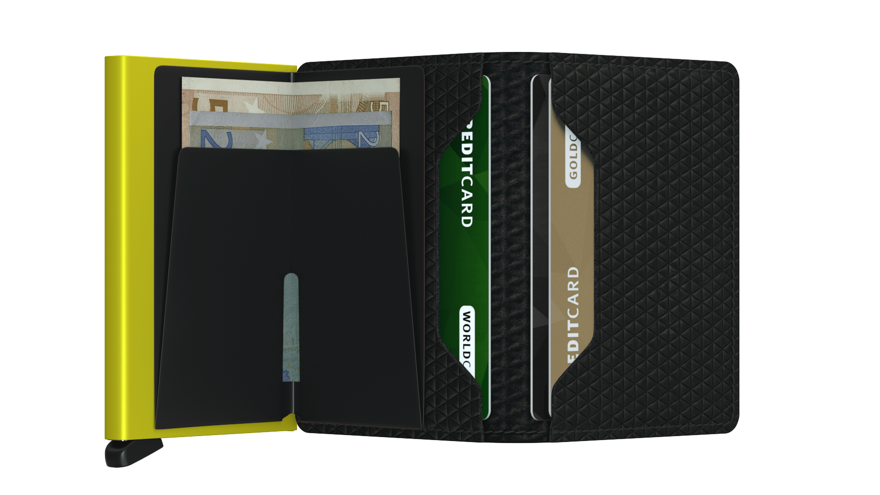 Secrid Slimwallet (Diamond Black)
