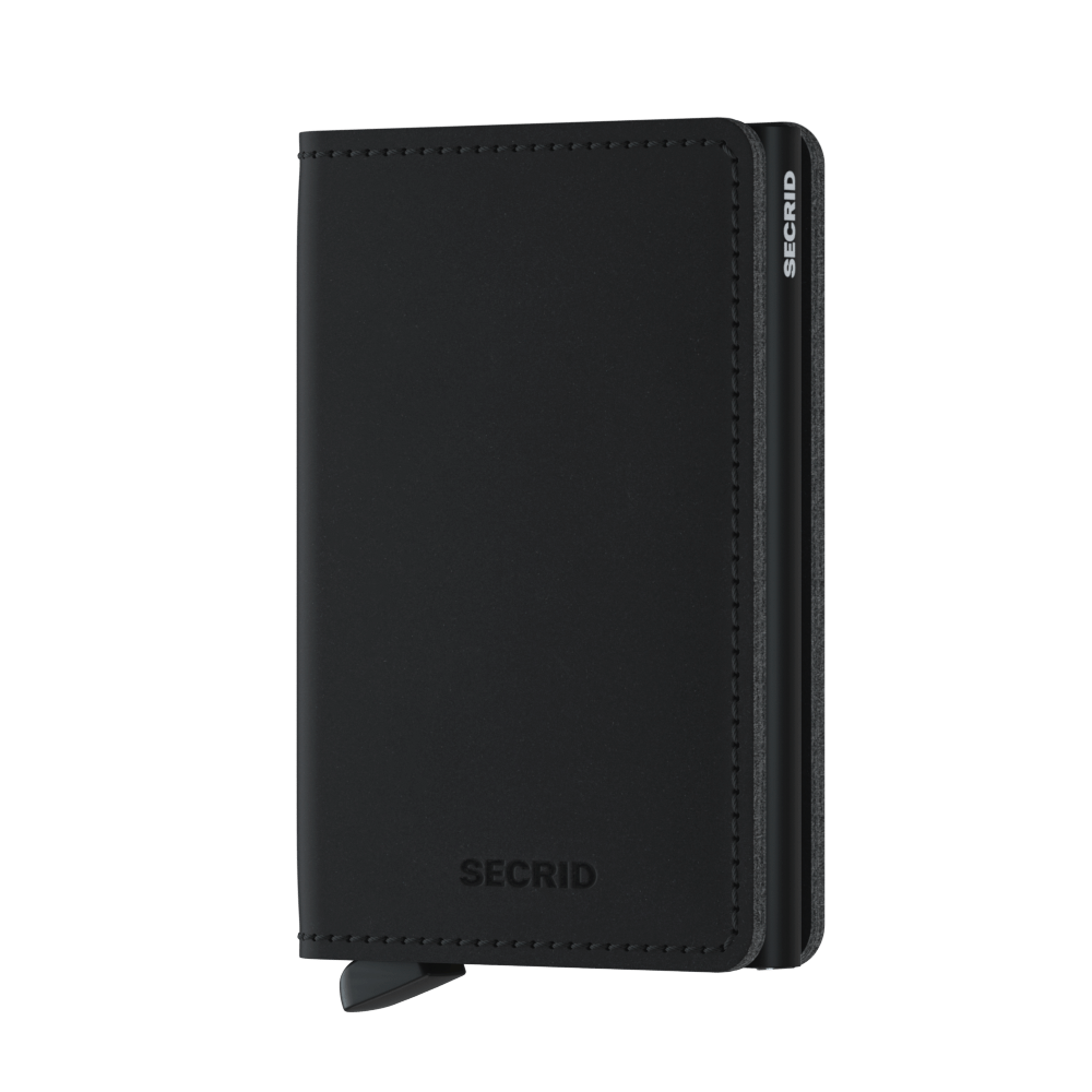 Secrid Slimwallet (Soft Touch Black)