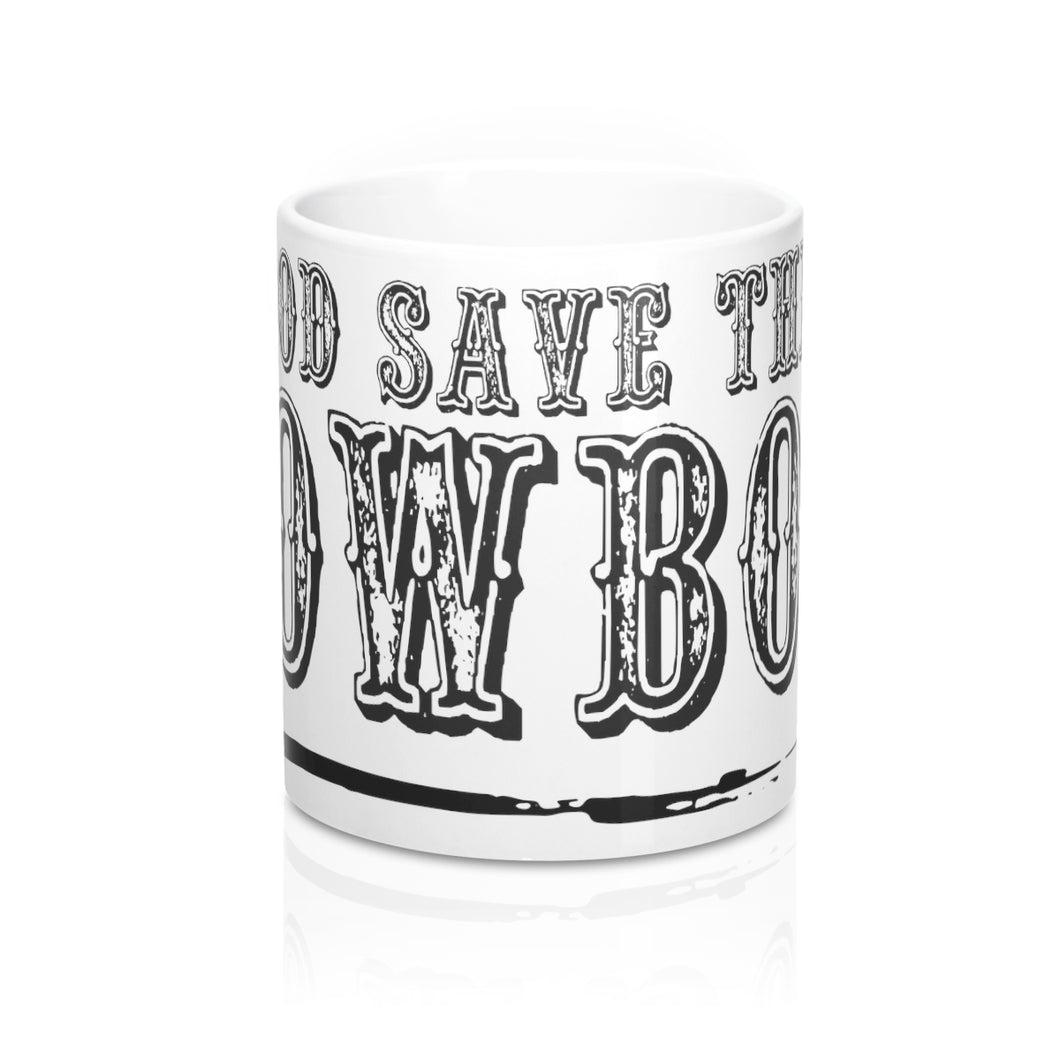 God Save The Cowboy Mug 11oz