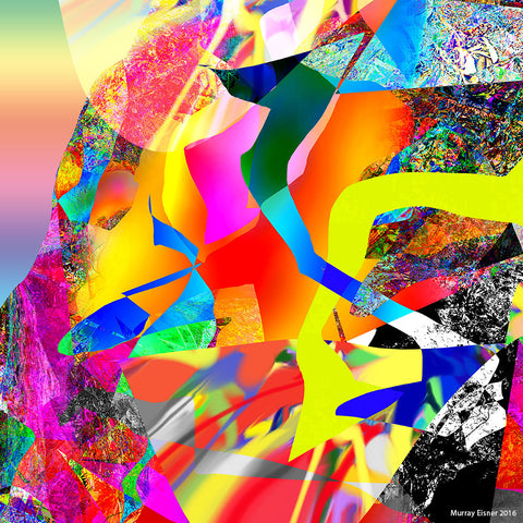 Composition for David - Abstract Art Print