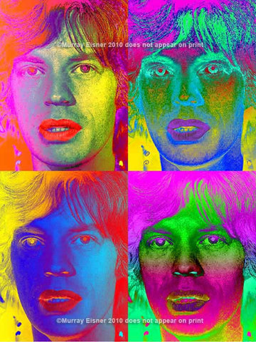 Mick Jagger #1 - of the Rolling Stones Pop Art Print