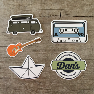 DCP Sticker Pack