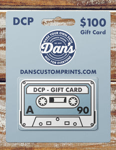 $100 DCP Gift Card