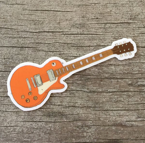 DCP Guitar Sticker