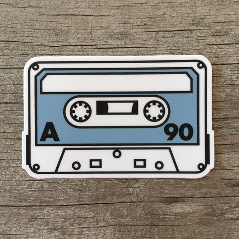 DCP Cassette Tape Sticker