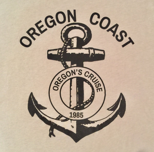 Oregon Coast Graphic Tee Shirt (Sand Color)