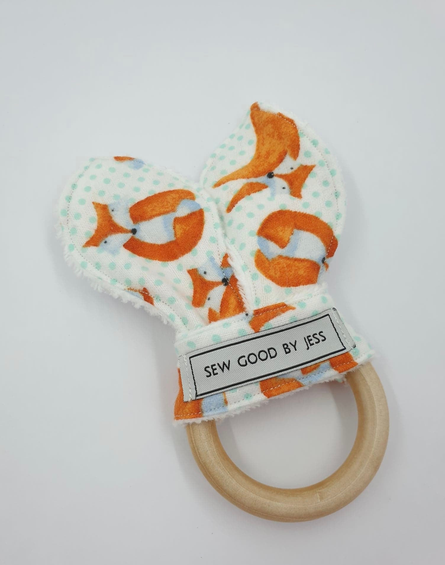 Bunny Ear Teether Rings