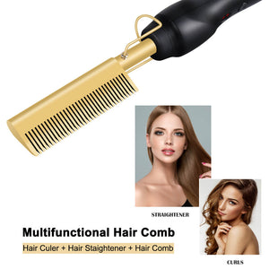 MULTI-FUNCTIONAL Hot Pressing Comb