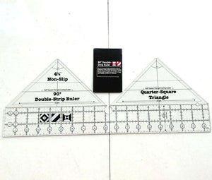 Non-slip 90 Degree Double Strip Ruler