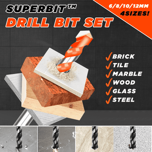 Superbit™ Twisting Drill Bits Set