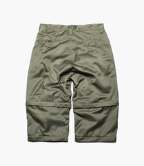 ¾ DOUBLE LAYER SHORTS (Olive)