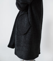 FLEECE WRAP (Charcoal)
