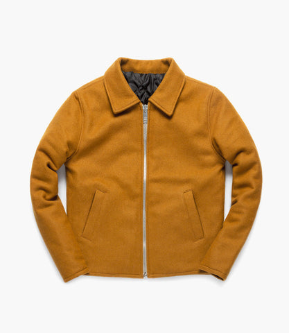 COACH JACKET (Ochre)