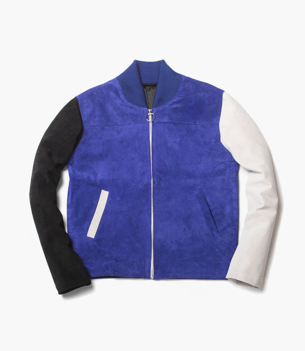 CROPPED RACER (Monaco / Blue)