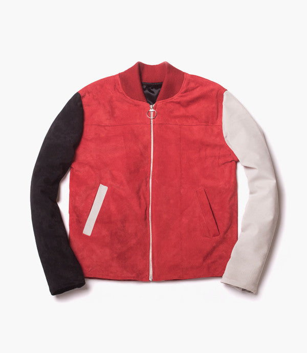 CROPPED RACER (Monaco / Red)