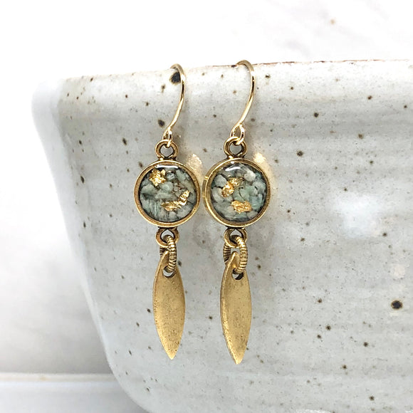 Carmel Earrings - Amazonite