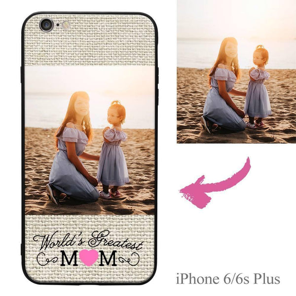 iPhone6p/6sp Personalisierte Mama Foto Protektiv Handyhülle