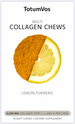 Lemon Turmeric Collagen Chew