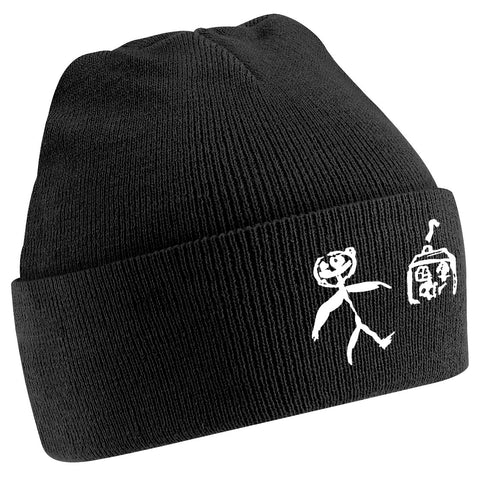 Little Man and a House Beanie, black