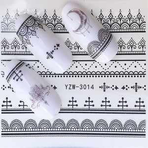 Nail Art Water Decals - All The Buys
