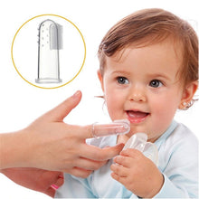 Load image into Gallery viewer, Cute Baby Finger Toothbrush - All The Buys