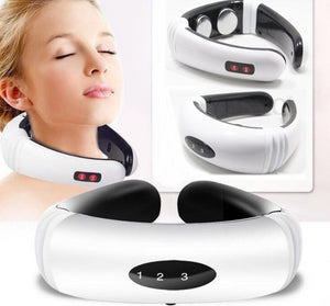 Electric Pulse Back and Neck Massager - All The Buys