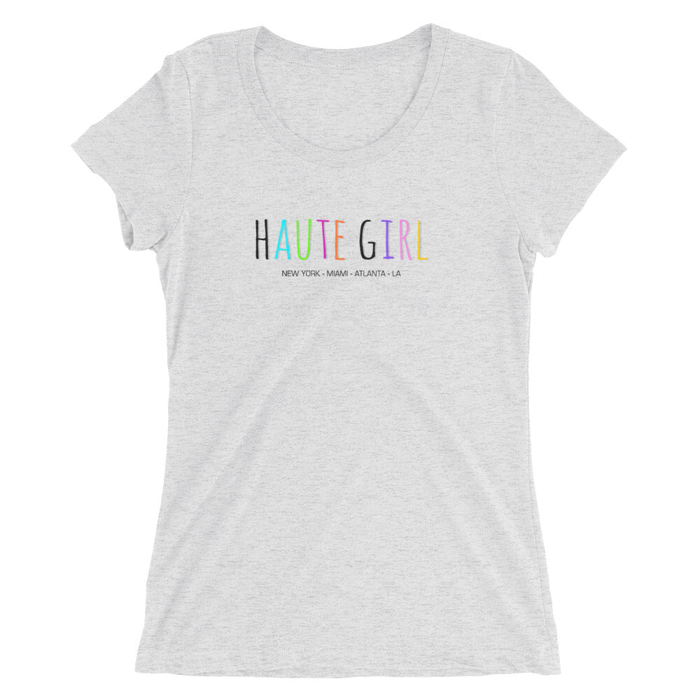 Haute Girl womens tee