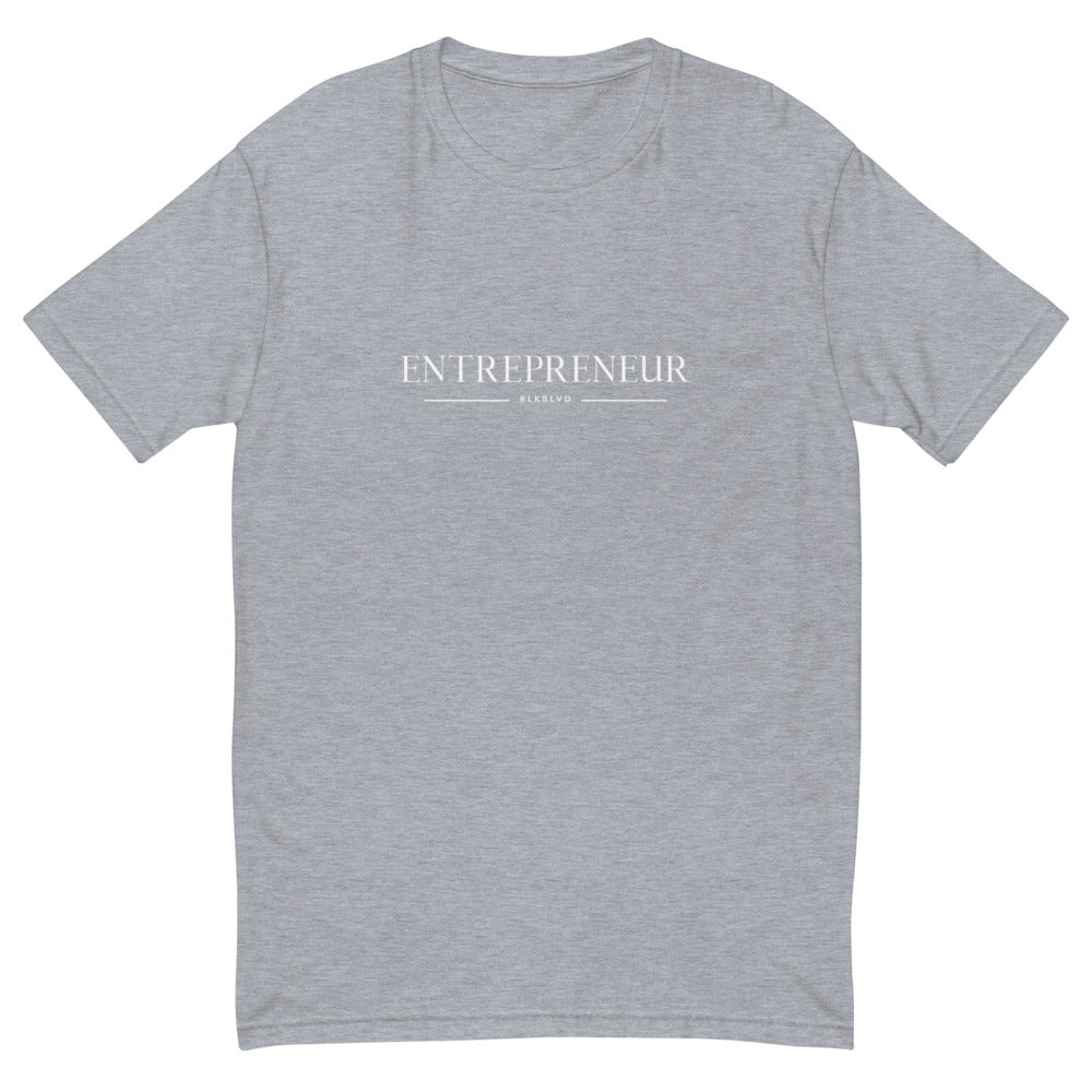 """Entrepreneur"" mens fitted tee"