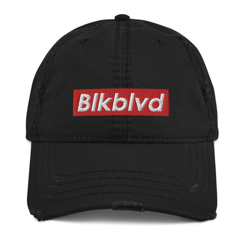 BLVD supreme Distressed Dad Hat