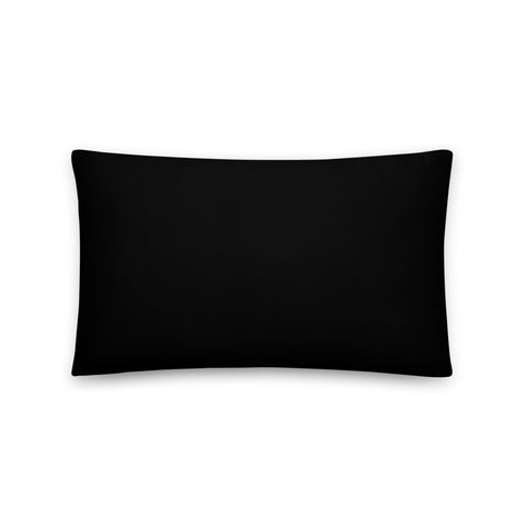 Blk BLVD logo Basic Pillow
