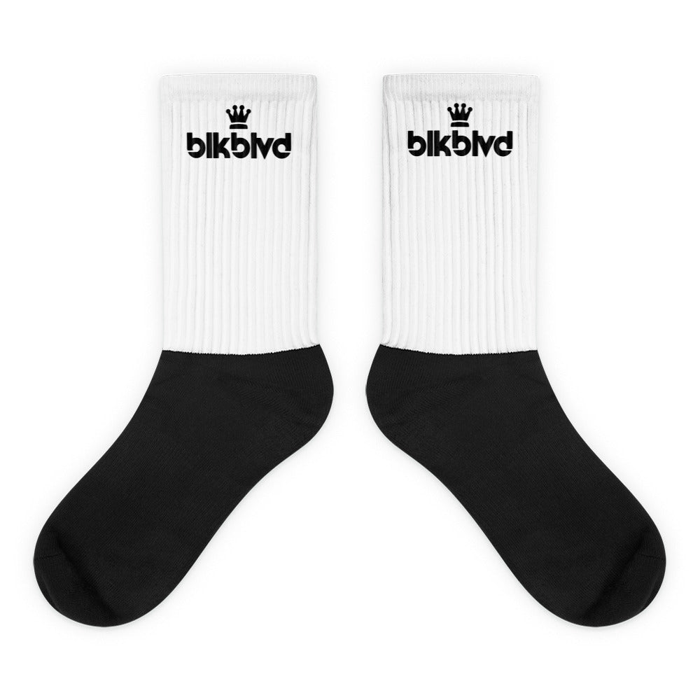 Crown Logo Socks