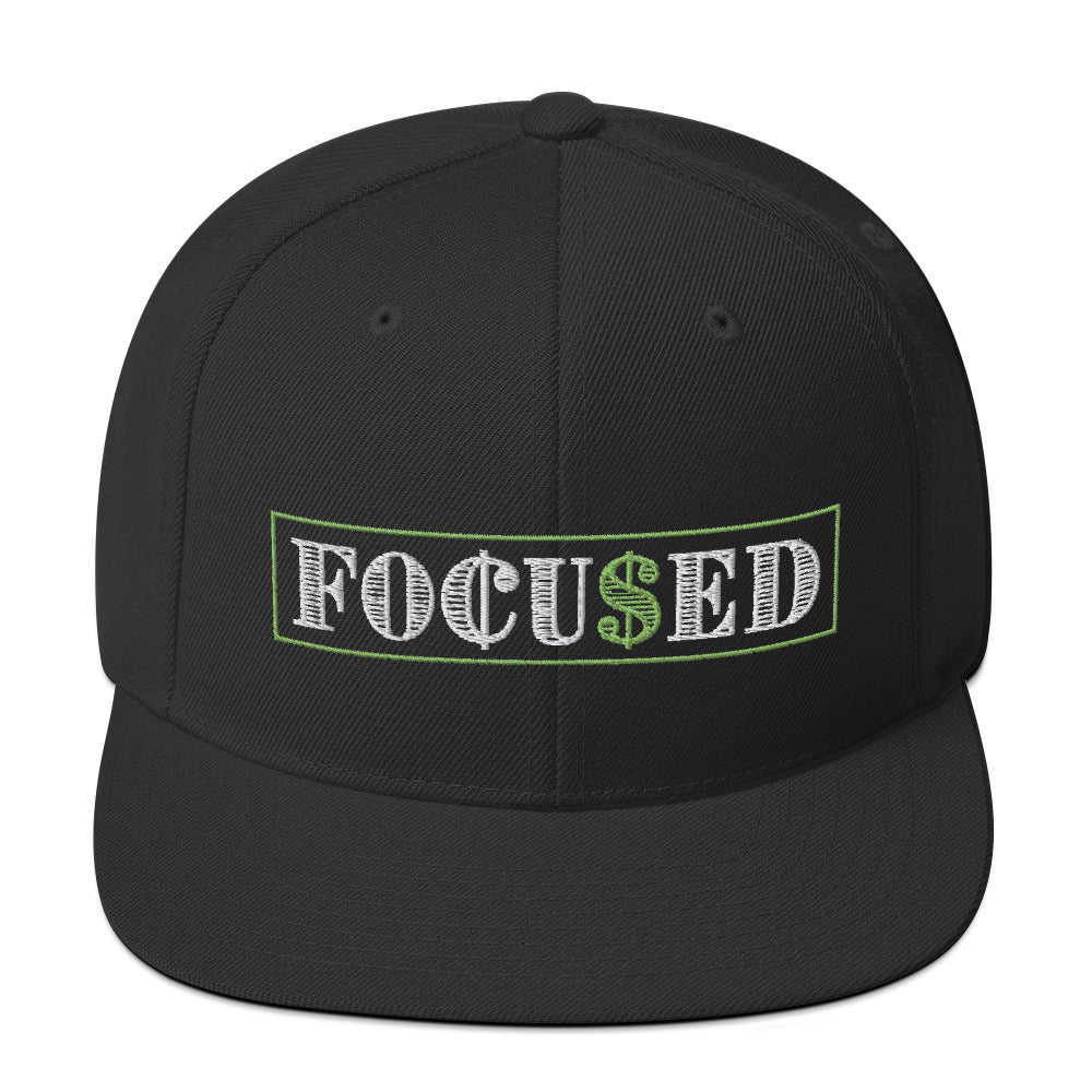Focused Snapback Hat