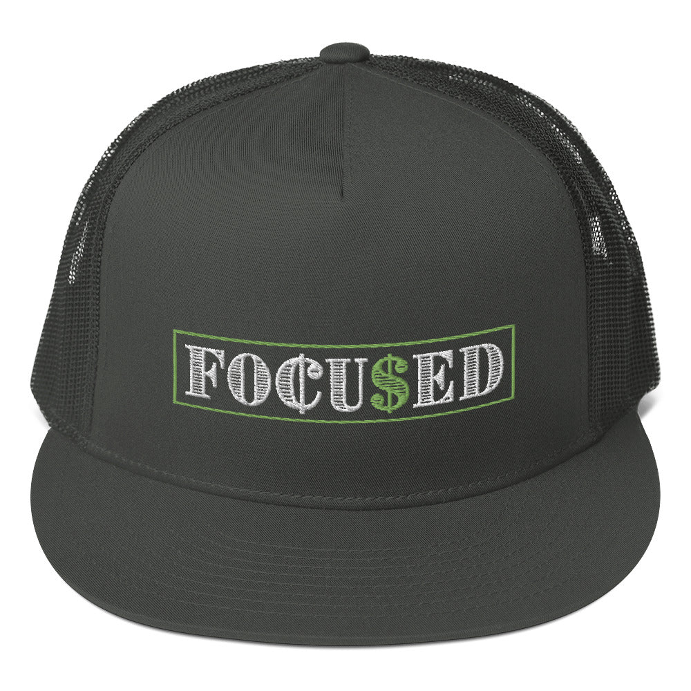 Focused Mesh Back Snapback