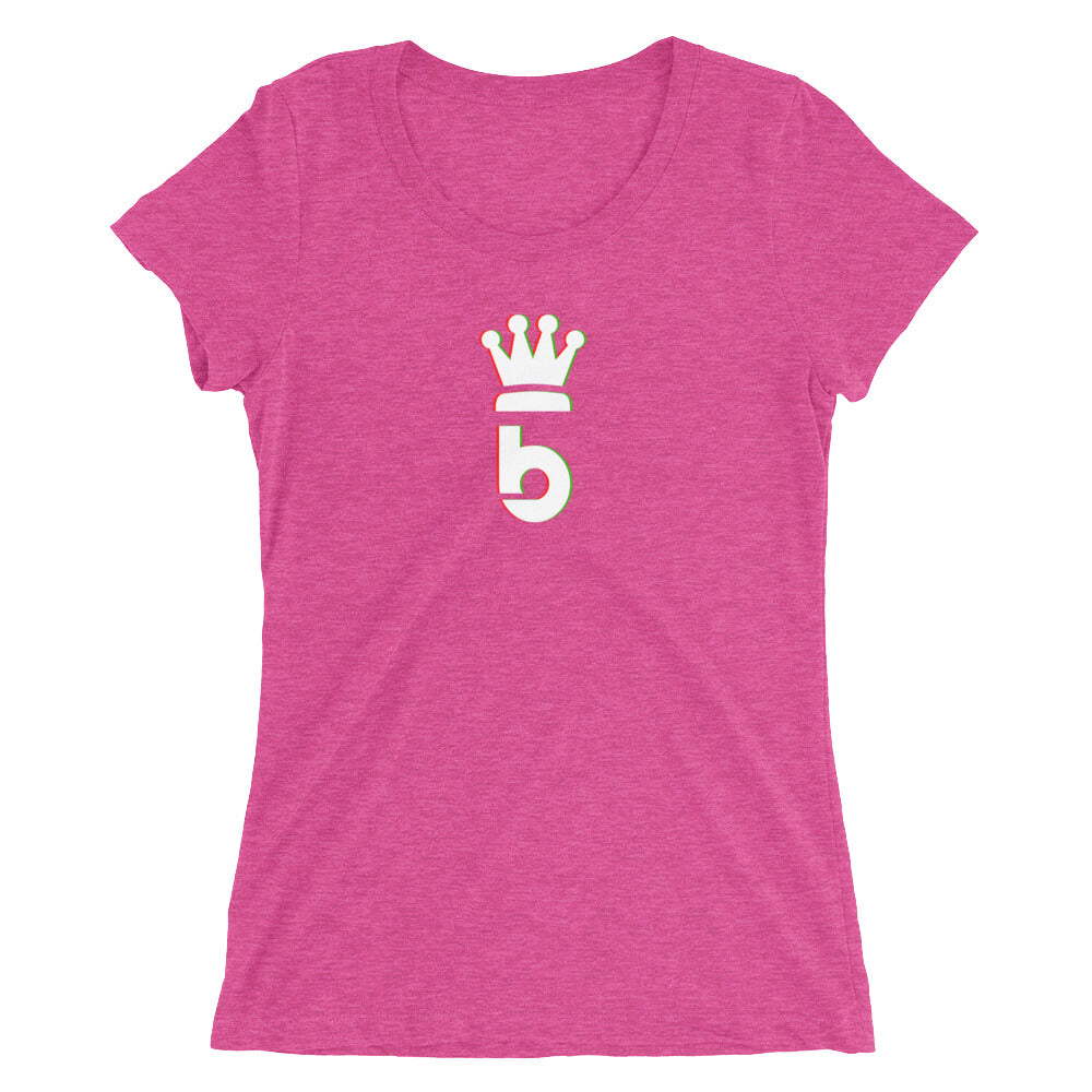 Crown B Ladies' short sleeve t-shirt