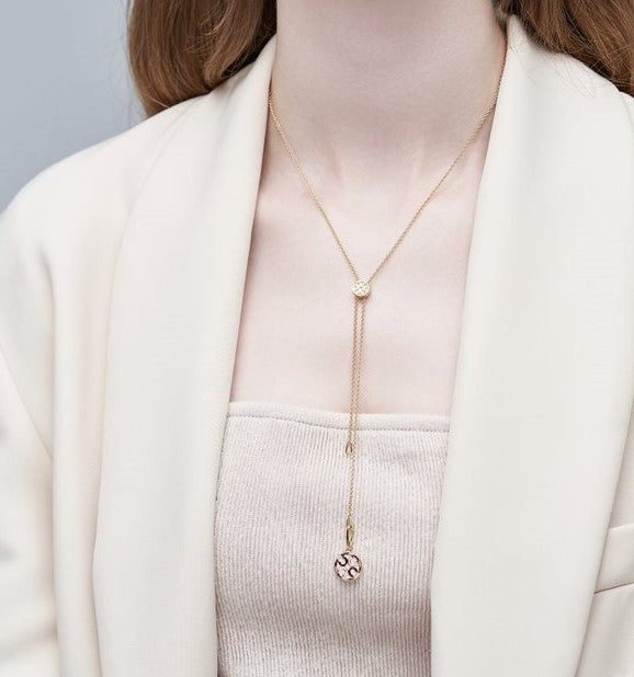 Destiny Necklace - Blush