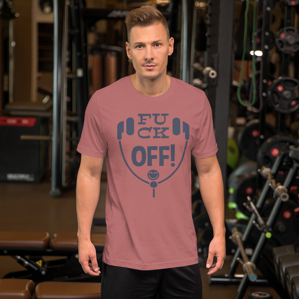 Fuck OFF Short-Sleeve Unisex T-Shirt