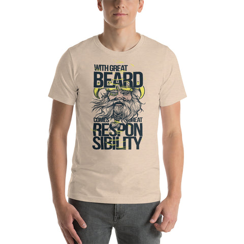 Beard Short-Sleeve Unisex T-Shirt