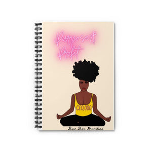 Purpose and Profit : Spiral Notebook - Ruled Line