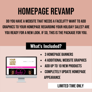 Homepage Revamp/Landing Page
