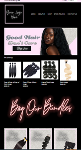 Lux-Hair Pre-Made SHOPIFY website VIP
