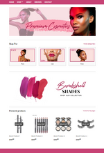Load image into Gallery viewer, Cosmetic Gal Pre-Made (Wix or Shopify)