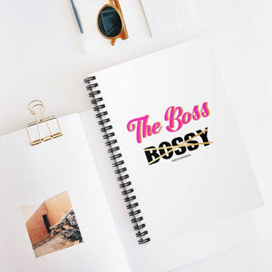 The Boss- Spiral Notebook - Ruled Line