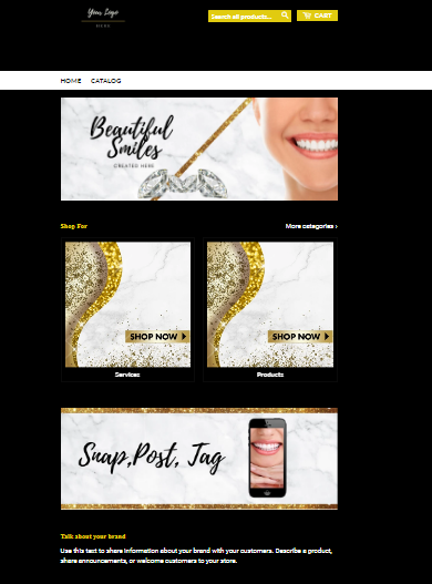 Teeth Whitening SHOPIFY Template