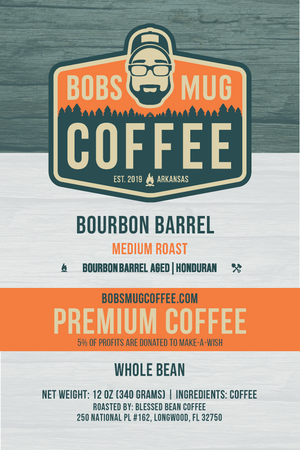 Bourbon Barrell Coffee 12oz.