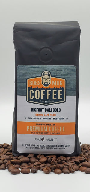 Bigfoot Bali Bold Organic Coffee 12oz.